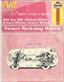img - for Fiat 850 Owner's Workshop Manual book / textbook / text book