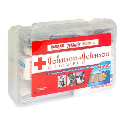 First Aid Kit Johnson & Johnson 140Pc 1Ea front-820824