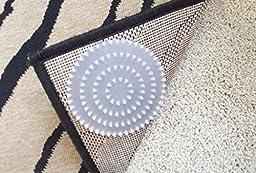 Non-Slip Rug Pads For Rugs On CARPET. 8 Pack. Designed For RUG On CARPET Anti-Slip. Limits Rugs/Exercise/Door Mats From Moving On CARPET. BRAND NEW! Carpet Anchor.