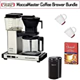 Technivorm KB-741 Moccamaster 10 Cup Coffee Brewer Bundle