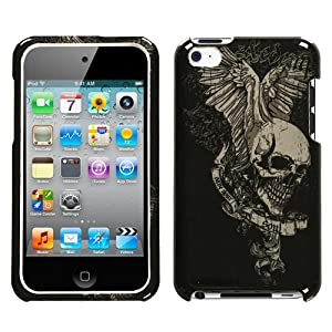 iPod Touch 4th Generation Snap-On Protector Hard Case Skull Print
