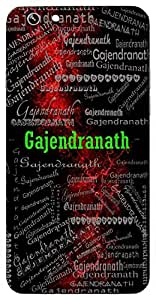 Gajendranath (Owner Of Gajendra (Lord Indra)) Name & Sign Printed All over customize & Personalized!! Protective back cover for your Smart Phone : Samsung Galaxy S5 / G900I