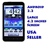 PAE2000 Unlocked Android Smartphone with 4.2 inch Touch Screen WiFi GPS No  ....