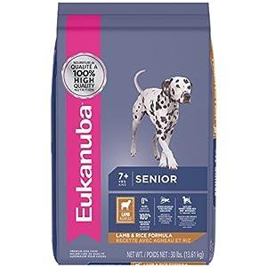 EUKANUBA Senior Lamb and Rice Formula Dog Food 30 Pounds