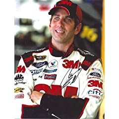 Greg Biffle Autographed Picture - 11X14 COA - Autographed NASCAR Photos by Sports Memorabilia