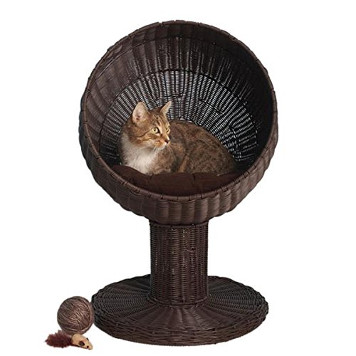 Kitty Ball Rattan Cat Bed