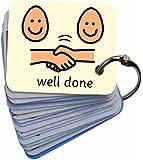 Positive Behaviour Reinforcement 02 Picture Exchange Communication Keyring (AAC / ASD) Visual Aid Resource