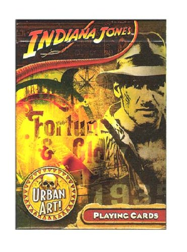 10-17467 - Indiana Jones Urban Art Playing Cards - One Deck