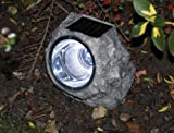 Outdoor Solar Powered LED Rock Light
