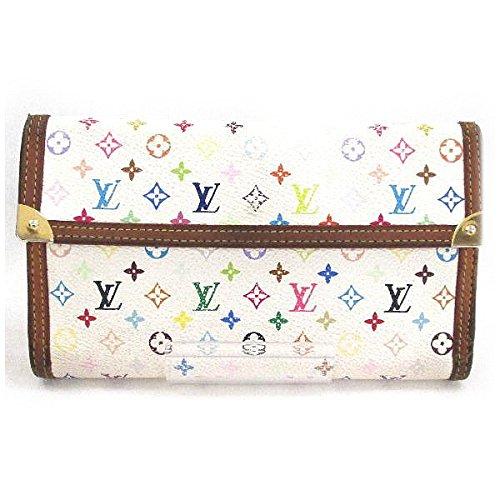 Louis Vuitton(ルイヴィトン) マルチカラー 三つ折り長財布M92659 [中古]