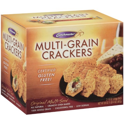 Crunchmaster Multi-Grain Crackers Gluten Free | Nutrition Spot