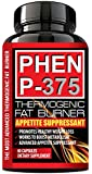 PHEN P-375® - PHARMACEUTICAL Grade Weight Loss Diet Pills - Most Advanced Appetite Suppressant that Works & Thermogenic Fat Burner - Increase Energy & Lose Weight with Clinically Proven Weight Loss Ingredients - Made in USA (1 Month Supply)