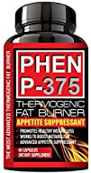PHEN P-375® – PHARMACEUTICAL Grade Weight Loss Diet Pills – Most Advanced Appetite Suppressant that…