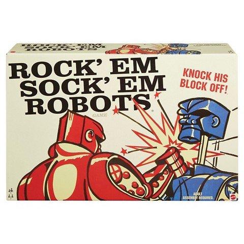 Retro Rock'em Sock'em Robots Game