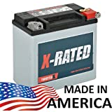 ThrottleX Batteries   HDX14L   Harley Davidson Replacement Motorcycle Battery  Same Day Shipping When Ordered M F By 3 PM EST