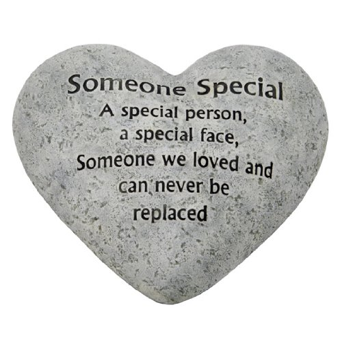 Graveside Memorial Ornaments - Heart Plaque Someone Special