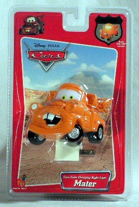 Disney 08917 Cars Color Changing Night Light - Mater front-855953