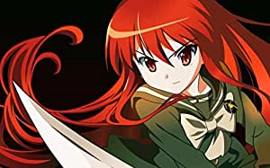 Amazon.com - Shakugan no Shana S Customized 22x14 inch Silk Print