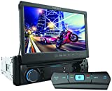 NESA NSD7014BT Analog TV Tuner 7-Inch Wide Single Din Digital Monitor with Built-In DVD/USB/Bluetooth
