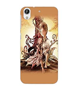 HTC DESIRE 626 LOVE COUPLE Back Cover by PRINTSWAG