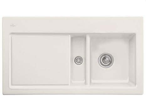 Villeroy Boch Subway 50 &Cream Beige Mounting Kitchen Sinks Inset Ceramic Sink