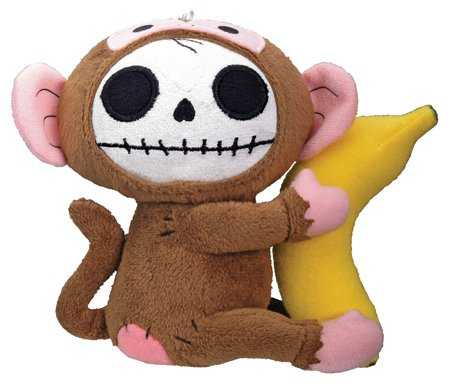 Munky Furry Bones Small Plush (H: 4.75