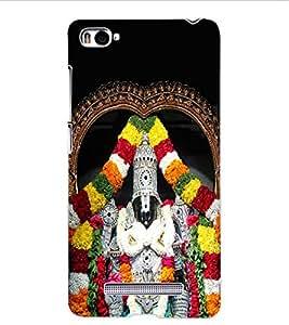 ColourCraft GOD Tirupati Balaji Design Back Case Cover for XIAOMI MI 4I