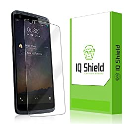IQ Shield LiQuidSkin - ZTE Axon Pro Screen Protector with Lifetime Replacement Warranty - High Definition (HD) Ultra Clear Smart Film - Premium Protective Screen Guard - Extremely Smooth / Self-Healing / Bubble-Free Shield -