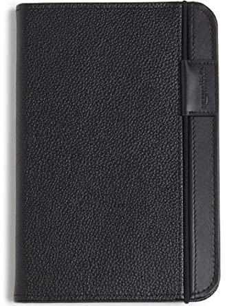 Kindle Leather Cover, Black, Updated Design (Fits Kindle Keyboard)
