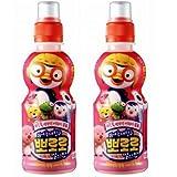 韓国ヤクルト パルド ポロロジュース いちご味235ml ペット ×2本