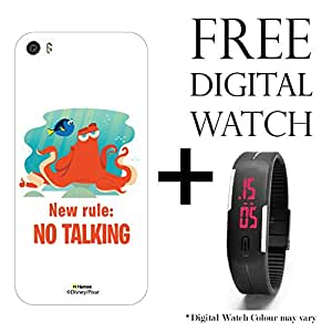 Hamee Disney Pixar Finding Dory Licensed Hard Back Case Cover For OnePlus X / One Plus X Cover with Free Digital Watch - Combo 33