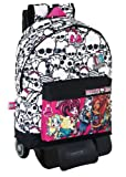 Monster High Mochila Grande Con Ruedas