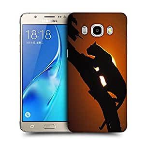 Snoogg Leopard On Tree Designer Protective Back Case Cover For SAMSUNG GALAXY J7 2016 J710X