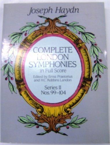 Complete London Symphonies in Full Score: Series II, Nos. 99-104 (London Symphonies Dover compare prices)