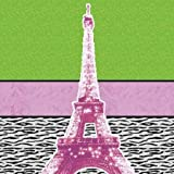Highlighter Eiffel by Gibbons, Lauren - Fine Art Print on PAPER : 20 x 20 Inches