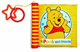 Kids Preferred Disney Baby Soft Book with Spine, Winnie the Pooh