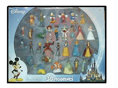 Beverly-Hills-Teddy-Bear-Company-Disney-Super-Assortment-Toy-Figure-Playset-30-Piece