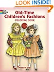 Old-Time Children's Fashions Coloring...