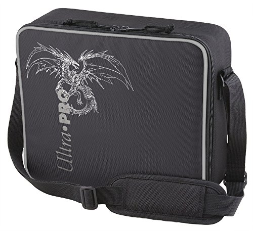 ultra-pro-deluxe-gaming-case-black-dragon-with-silver-trim