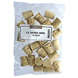 Medium #9 Tapered Corks (for standard wine bottles) Bag of 25