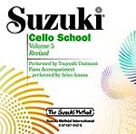 Suzuki Cello School, Volume Five: Per...
