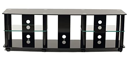 TransDeco TV Stand with Caster for 35 to 70-Inch Plasma/LED/LCD TV