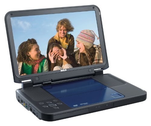 RCA DRC6331B Portable DVD Player with 10-Inch LCD Screen