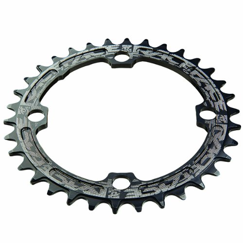 Race Face 104mm Single Chain Ring, Black, 30T 9/10/11 Speed