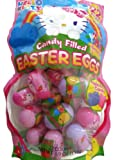 Hello Kitty Candy Filled Easter Eggs - Contains 22 Hello Kitty Shaped Candy Filled Eggs