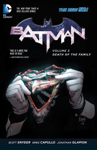 Batman Vol. 3: Death of the Family (The 52) at Gotham City Store