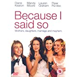 Because I Said So [Import anglais]par Diane Keaton