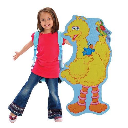 Cheap Fun Sesame Street Big Bird BIG Like Me Foam Floor Puzzle (B0051OSAS4)