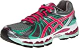 ASICS Womens GEL-Nimbus 15 Running Shoe,Titanium/Hot Pink/Mint,9 M US