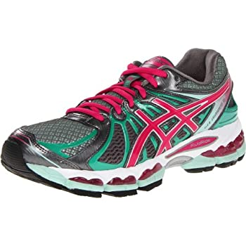 Super light and extra durable, the updated ASICS GEL-Nimbus 15 running shoe delivers top-notch performance for your training routine. The full-length Guidance Line provides smooth transitions and increases efficiency; gender-specific forefoot cushion...
